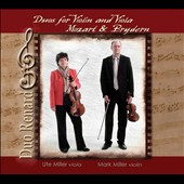 Mozart, Bryden: Duos for violin and viola / Ute Miller, viola; Mark Miller, violin