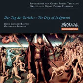 Telemann: Der Tag des Gerichts (The Day of Judgement) / Bach Consort Leipzig