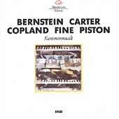 Bernstein, Carter, Copland, Fine, Piston: Kammermusik