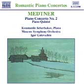 Medtner: Piano Concerto no 2, etc / Scherbakov, Golovschin