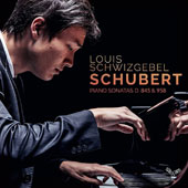 Schubert: Piano Sonata No. 16 in A minor, Piano Sonata No. 19 in C minor / Louis Schwizgebel, piano