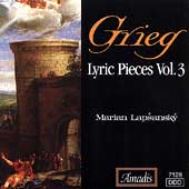 Grieg: Lyric Pieces Vol 3 / Marián Lapsansky