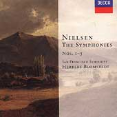 Nielsen: Symphonies no 1-3 / Blomstedt, San Francisco PO