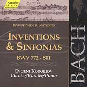 Edition Bachakademie Vol 106 - Inventions & Sinfonias
