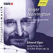 Elgar: Symphony no 1 / Norrington, SWR RSO Stuttgart