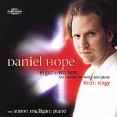 Elgar, Walton: Sonatas for Violin and Piano;  Finzi: Elegy