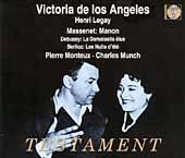 Massenet: Manon;  Debussy, Berlioz / de Los Angeles, et al