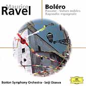 Eloquence - Ravel: Boléro, Pavane, etc / Ozawa, Boston SO