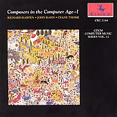 Various Artists: Composers in the Computer Age, Vol. 12