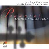 Paganini: Sonatas for Violin & Guitar / Ganz, Siewers