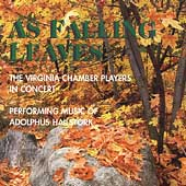 Hailstork: As Falling Leaves, etc / Virginia Chamber Players