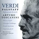Verdi: Falstaff  - Rehearsals / Toscanini, et al