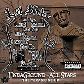 Lil' Keke: Undaground All Stars: Da Texas Line Up [PA]