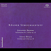 Brahms, Busch: String Sextets / Cologne String Sextet