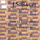 Bach: Art of the Fugue / de Vriend, Viotta Ensemble
