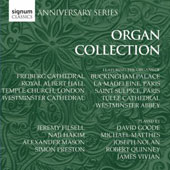 Organs of Famous Cathedrals - works by Bach, Mendelssohn, Schumann, Wesley et al. / David Goode, Joseph Nolan, Simon Preston, Jeremy Filsell