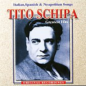 Tito Schipa (Tenor Vocal): Italian Songs