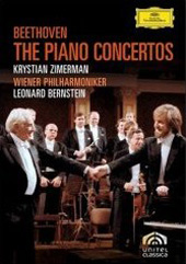 Beethoven: The Five Piano Concertos / Zimerman, Bernstein/Vienna PO [2 DVD]
