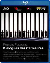 Poulenc: Dialogues des Carmelites / Young, Voulgaridou, Harries [Blu-Ray]
