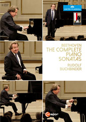 Beethoven: The Complete Piano Sonatas - Bonus: Interview with Mr. Buchbinder about the Beethoven Sonatas / Rudolf Buchbinder, piano (live, Salzburg Festival 2014) [6 DVD]