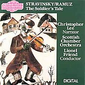 Stravinsky: The Soldier's Tale / Christopher Lee