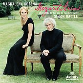 Mozart: Arias / Kozena, Rattle, et al