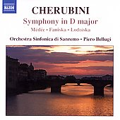 Cherubini: Symphony in D major, etc / Piero Bellugi, et al