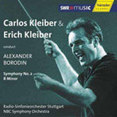 Borodin: Symphony no 2 / Erich Kleiber, Carlos Kleiber