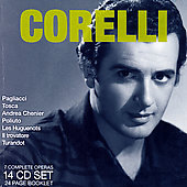 Verdi, Puccini, Donizetti, etc: Operas  / Corelli, et al