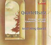 Dvorak, Schubert, Tchaikovsky, Joachim: String Quartets / Israel String Quartet