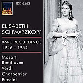 Elisabeth Schwarzkopf - Rare Recordings 1946-1954 - Mozart, Beethoven, Verdi, Charpentier, Puccini
