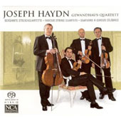 Haydn: String Quartets no 2 - 4, Op. 76 / Gewandhaus String Quartet