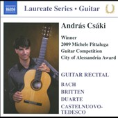 Laureate Guitar Series: Andras Csaki