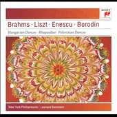 Brahms, Liszt, Enescu, Borodin: Dances & Rhapsodies / New York Philharmonic; Bernstein