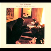 Paul Williams (Singer/Songwriter): Just an Old Fashioned Love Song [Digipak]