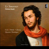 David Felicien: Le Souvenir / Quatuor Mosaiques. Coin, Dunki, Gabetta