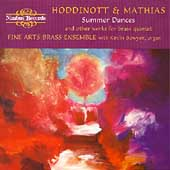 Summer Dances - Hoddinott, Mathias / Fine Arts Brass