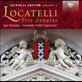 Pietro Antonio Locatelli Edition, vol. 1 - Trio Sonatas / Ensemble Violini Capricciosi