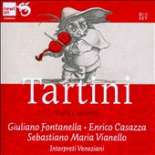 Tartini: Violin Concertos (8) / Giuliano Fontanella, Enrico Casazza, Paolo Ciociola, violins; Interpreti Veneziani