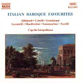 Italian Baroque Favourites / Capella Istopolitana