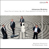 Brahms: Piano Trio; Piano Quartet / Munich Piano Trio; Tilo Widenmeyer, viola