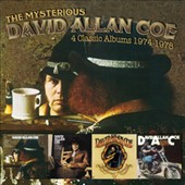 David Allan Coe: The  Mysterious David Allan Coe: 4 Classic Albums 1974-1978 *