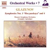 Glazunov: Orchestral Works Vol 7 / Anissimov, Moscow SO