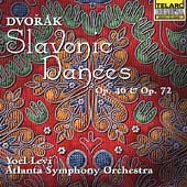 Dvor&aacute;k: Slavonic Dances Op 46 & 72 / Levi, Atlanta SO