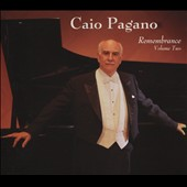 Remembrance, Vol. 2 - Robert Schumann / Caio Pagano, piano