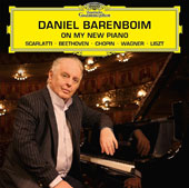 On My New Piano - Mozart: Sonata K.159; Scarlatti: Sonatas L.413 & L.23; Beethoven: 32 Variations in c minor; Chopin: Ballade, Op. 23; Wagner / Daniel Barenboim's first solo recording on his new concert grand Barenboim-Maene