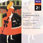 Prokofiev: Cinderella;  Glazunov: The Seasons / Ashkenazy