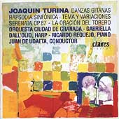 Turina: Danzas Gitanas, Rapsodia Sinf&#243;nica, etc / Udaeta