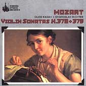 Mozart: Violin Sonatas K 378 & 379 / Kagan, Richter