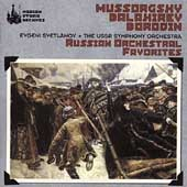 Mussorgsky, Balakirev, Borodin / Evgeny Svetlanov